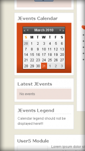 JEvents Module Style