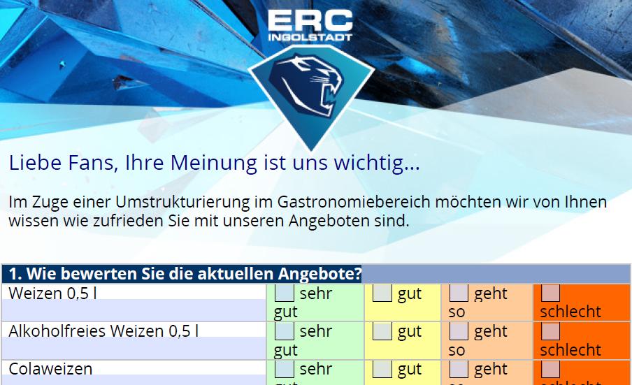 ERCI Gastro-Umfrage