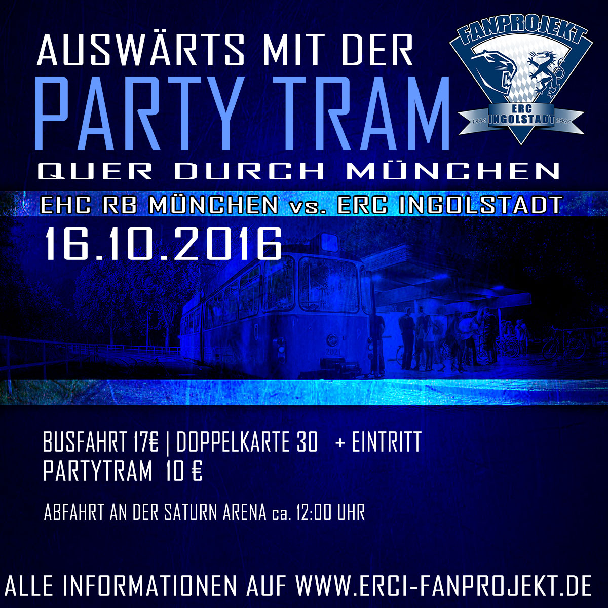Mit der Partytram durch München!