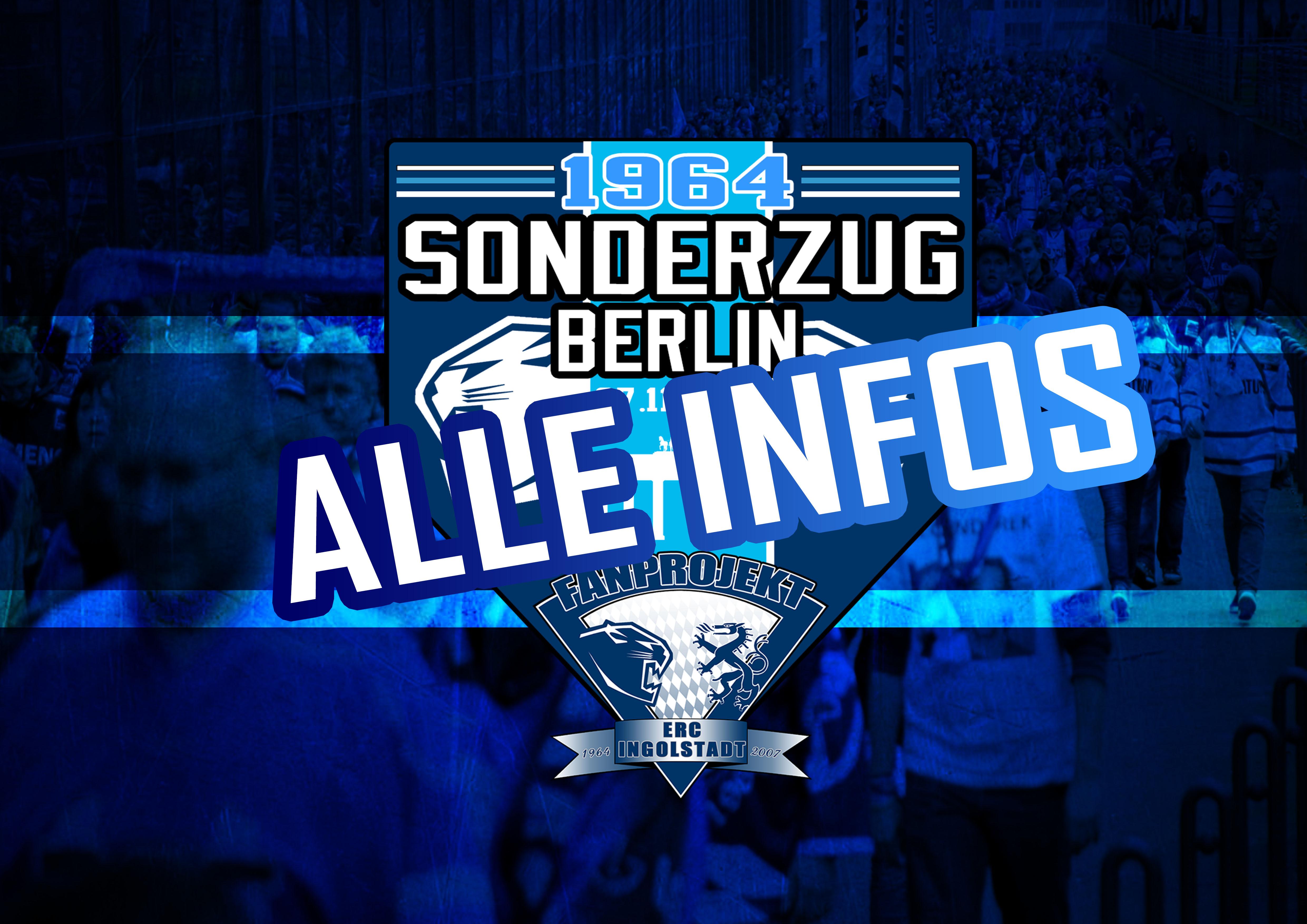 Alle Infos zum Sonderzug nach Berlin