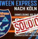 Halloween Express ausverkauft!