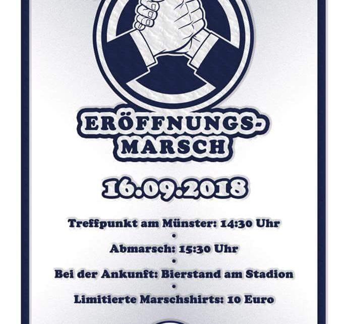 Schanzer Eröffnungsmarsch 2018