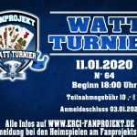 Watt Turnier am 11.01.2020