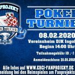 Pokerturnier 2020
